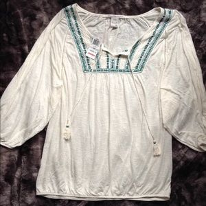 American Rag boho inspired top